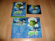 EL GRINCH CON JIM CARREY PELICULA EN DVD USADA Y EN BUENAS CONDICIONES