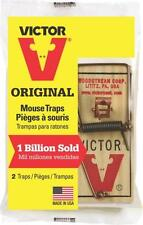 NEW LOT OF (20) VICTOR ORIGINAL M150 WOODEN SNAP SPRING MOUSE TRAPS USA MADE