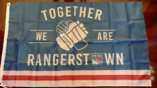New York Rangers 3x5 Rangerstown Flag. US seller. Free shipping within the US!!!