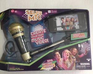 SELFIE MIC Music Set. Create your own music videos.