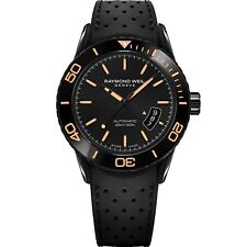 Raymond Weil 2760-SB2-20001 Men's Freelancer Black Automatic  Watch
