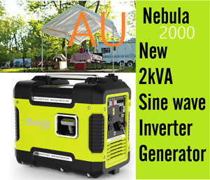 High Quality Nebula  2kVA Petrol Generator Pure Sine wave Rated 2000W Inverter
