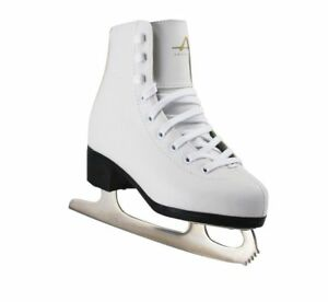 Girl's Ice / Figure SkateTricot Lined Ice Skates Boots - American Athletic