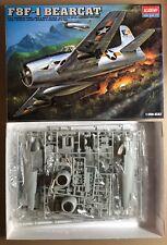 ACADEMY 2186 - F8F-1 BEARCAT - 1/48 PLASTIC KIT NUOVO