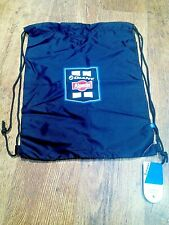 NEW ALPECIN GIANT Musette Cycling Feed  Drawstring Bag Black with Decals
