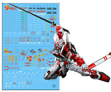 D.L high quality Decal water paste For Bandai PG MBF-P02 Astray Red Frame Gundam