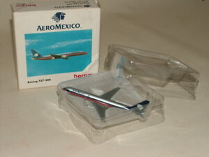 HERPA WINGS VINTAGE PASSENGER AIRCRAFT BOXED 1:500 BOEING 757-200 AERO MEXICO