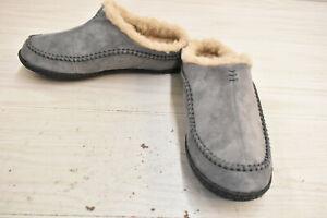 Sorel Falcon Ridge II Slippers, Men's Size 9M, Gray NEW