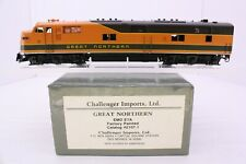 Challenger Imports Brass HO Great Northern E7A Diesel Factory Paint 2107.1