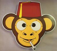 Monkey Clock Mesmereyezing Animated Eyes