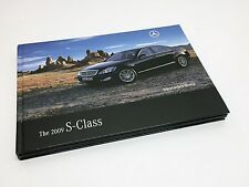 2009 Mercedes-Benz S-Class W221 Hardcover Brochure
