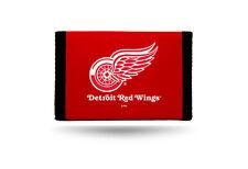Detroit Red Wings NHL Nylon Tri Fold Wallet Hockey