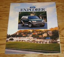 Original 1996 Ford Explorer Sales Brochure 96 XL XLT Sport Eddie Bauer
