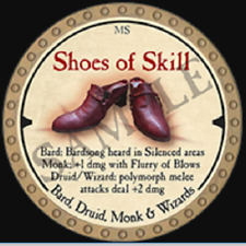 True Dungeon Token - Shoes of Skill