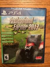 PLAYSTATION 4 PROFESSIONAL FARMER 2017 BRAND NEW VIDEO GAME