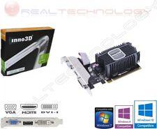 SCHEDA VIDEO 2 GB DDR3 GE FORCE GT730 INNO3D 64 BIT DVI/HDMI/VGA PCI EXPRESS