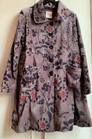 BNWT! Beautiful *NOMADS* Grey Cotton Velvet Coat 16