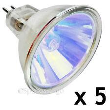 5 x CREDA DIMPLEX MR16 Opti-Myst Xenon Amber Lamp Bulb Electric Fire Light