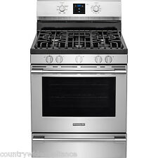 "Frigidaire PROFESSIONAL Stainless 30"" Gas Range Rear Controls FPGF3077QF"