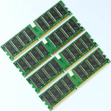 4GB 4x1GB PC3200 DDR400 400MHz 184Pin 400 DIMM Desktop Low Density MEMORY RAM