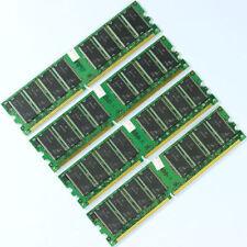4GB 4x1GB PC3200 DDR400 400MHz 184Pin 400 DIMM Desktop Low Density MEMORY RAM