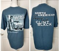 CLINT BLACK Vintage Concert Tour Shirt Sz Extra Large Country Western Music 1998