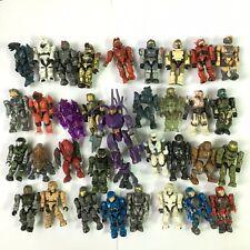 Lot OF 30 Random Halo Mega Bloks SOLDIER Action Figure toy gift QA364