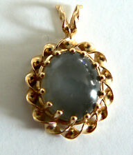 Very beautiful  Moonstone 14k yellow gold Necklace