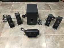 Logitech X-540 5.1 Surround Sound Speaker System with Subwoofer 6 Piece