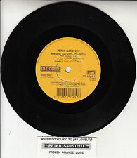"PETER SARSTEDT Where Do You Go To My Lovely? & Frozen Orange Juice 7"" 45 rpm NEW"