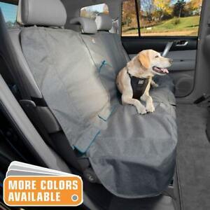 Kurgo Car/SUV Bench Seat Cover Heather Grey/Coastal Blue K01600