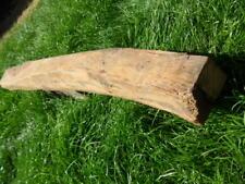 small antique oak rustic fireplace floating beam mantle hook rack backboard B1