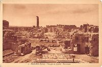 BR72635 temple de jupiter panorama  baalbek syrie syria