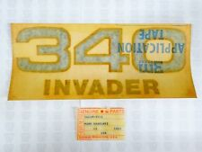 "Kawasaki NOS NEW 56018-3501 ""340"" Mark Decal Invader Snowmobile Snow 1978"
