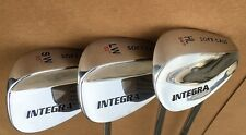 INTEGRA WEDGE SET 56* 60* 64* AW LW HL Golf WEDGES Gap Sand Lob Regular STEEL