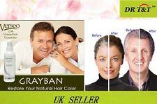 Genuine GRAYBAN greyban Anti Graying Hair RESTORE in 3 Days