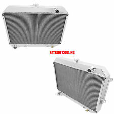 Big Block 1968-1973 Dodge Charger 4 Row Aluminum Radiator, Champion Cooling