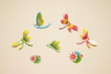 Nursery Childrens Kids Girls Butterfly Flower Baby Wall Stickers Decals Bedroom