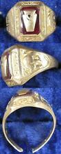 Ring 10K Solid Gold~7 ½ 1953 Scott Township High School