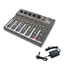 Mini Professional 7 Channel Live Studio Audio Mixer Usb Mixing Console Ktv New