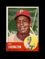 1963 Topps Baseball #529 Wes Covington (Phillies) EXMT