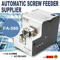 Automatic Screw Feeder Counter Function Conveyor Machine FA-560 100-240V 20mm OE