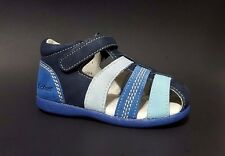 New KICKERS Toddler Boys LEATHER Sandals Fashion Size 6 USA/22 EURO.FREE RETURN