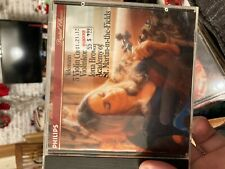 Telemann 5 Violin Concertos IONA BROWN PHILIPS CD 411125-2 MINT Full Silver