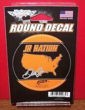 DALE EARNHARDT JR JR NATION 2018 WINCRAFT 3 INCH ROUND DECAL
