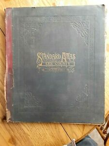 1921 Atlas, Plat, Map book of Lee County Illinois