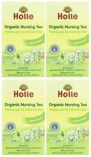 Holle organic nursing thés - 20 sachets de thé (pack de 4)