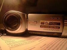 Sony HDR-CX105E plata.