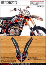 Rockwell  Dirt Bike  Graphics KTM EXC 2008-11 FULL FRONT FENDER GRAPHIC
