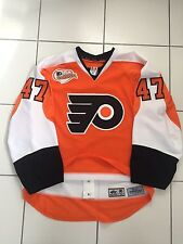 ERIC WELLWOOD GAME WORN JERSEY AUTOGRAPHED PHILADELPHIA FLYERS WINDSOR SPITFIRES